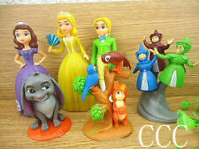 6PCS New Disney Sofia the First Goody figures set Size: 4-12cm