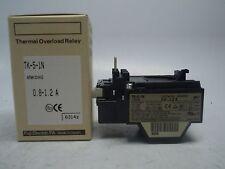 Fuji Electric TK-5-1N 0.8-1.2 Amp Thermal Overload Relay 4NK0HG