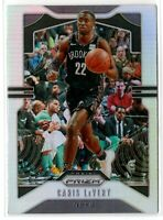 2019-20 Panini Prizm Basketball Caris LeVert SP Silver Prizm #50 Brooklyn Nets