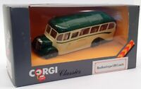 Corgi 1/50 Scale Diecast C949/5 - Bedford Type OB Coach - Green/Cream