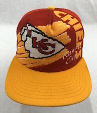 Kansas City Chiefs New Era Mesh Snapback Trucker Hat Vintage