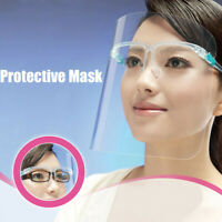 2PC Kitchen Anti-fog Anti-Oil Protect Eyes Clear Face Cover Transparent Mask UK