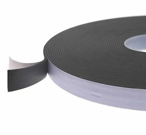 Scapa Black Single Sided Foam Tape 3mm Thick Available in 12mm, 25mm, 50mm Width