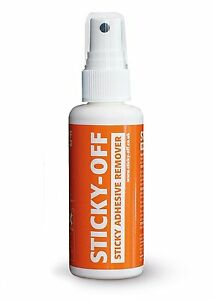 Rustins Sticky-Off sticky Adhesive Label Gum Glue Remover 60ml Multi Surface