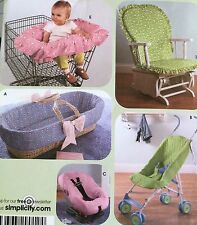 CUT VINTAGE 2006 SIMPLICITY BABY ACCESSORIES SEWING PATTERN 4636