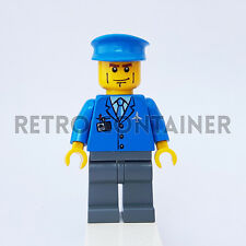 LEGO Minifigures - 1x air039 - Pilot - Airport Town Omino Minifig Set 7734
