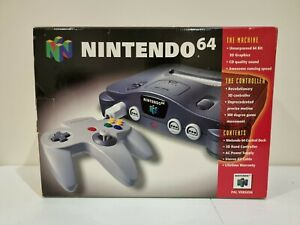 Nintendo 64 (AUS/PAL) In box - Great Condition