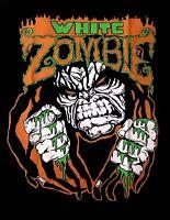 WHITE ZOMBIE cd lgo LUGOSI Official Black SHIRT Size LRG New rob zombie