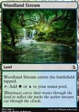 Woodland Stream NM X4 Amonkhet Land Common MTG