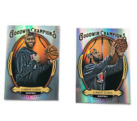 2020 Lebron James Goodwin Champions Silver Lakers SP Basketball Cards NBA