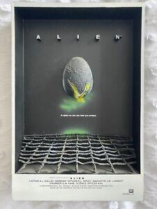 *RARE* ALIEN 3D Movie Poster 2007 McFarlane Pop Culture Toys