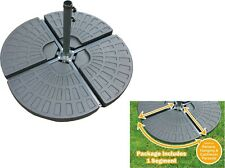 Parasol Base Weight 14kg For Banana Hanging & Cantilever Umbrella Fanbase Stand