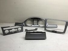 VW PASSAT B7 CC DASH BOARD INTERIOR TRIM SET ASH TRAY CLUSTER aluminium