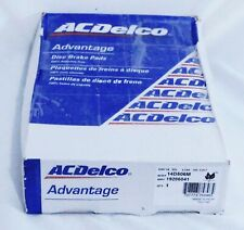 Chevrolet Buick Olds Pontiac Front Disc Brake Pads ACDelco Advantage 14D506M