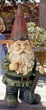 "©Gottfried The Gigantic Garden Gnome Design Toscano 45½"" Hand Painted Statue"