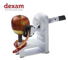 Dexam Swift Easy Compact Rotary Apple Peeler Hand Held Vegetable Non Slip Base