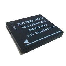 Li-ion Battery Pack DMW-BCK7 for Panasonic Lumix DMC-S1W NCA-YN101H Camera NEW