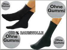 Socken ohne Gummi Gesundheitssocken Diabetiker Socken Arbeitssocken Baumwolle