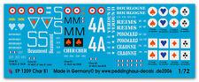 1/72 étiquettes Char B 1 4 versions 1209