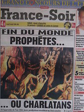 ▬► Journal France Soir 09/08/1999 Stéphanie de Monaco