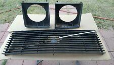1977 Volvo 242 Flat Hood Grill light trim bezels 244 245 240 GT