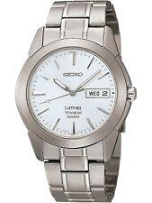 SEIKO SGG727P1,Men QUARTZ,Titanium case & bracelet,Sapphire glass,100m WR,SGG727