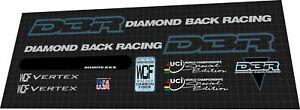 1995 Diamondback Racing WCF Wertex DECAL SET