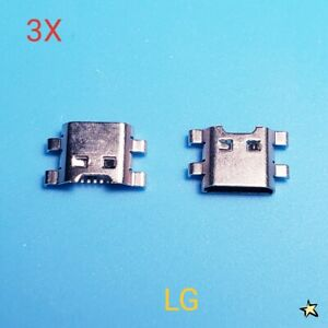 LG K20 Plus MP260 TP260 VS501 Micro USB Charger Charging Port Dock Connector 3X