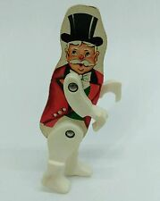 Vtg. Fisher Price 1963 Junior Circus #902 Ringmaster replacement wooden figure
