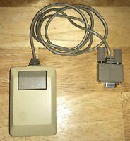 TESTED 1984 Apple Macintosh 1st Original Style Beige MOUSE M0100 Mac 128K NICE!