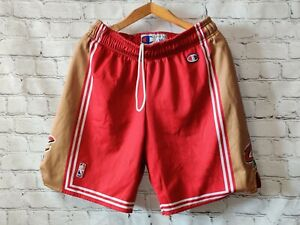 Shorts CLEVELAND CAVALIERS basketball Jersey Champion NBA Red Sport Vintage M
