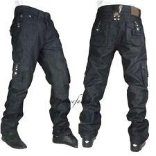 Jeans da uomo neri