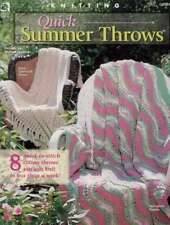 New Knitting Quick Summer Throws 8 Quick Designs
