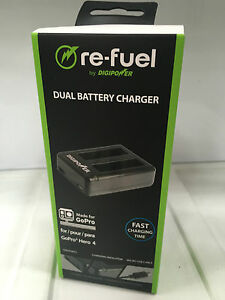 DigiPower Dual battery Charger for GoPro HERO4