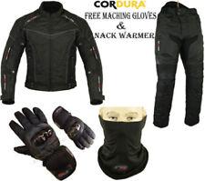 Combinaisons de motocyclette noirs textiles taille 44