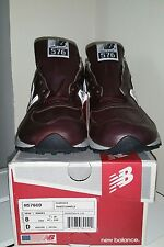 New Balance M576CD Japan Exclusive. Made in USA. Rich dark brown leather.
