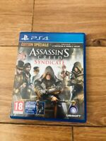jeu assassins creed syndicate ps4 Playstation 4 assassin's en bon etat