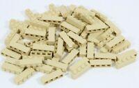 LEGO TAN 1X4 BRICK X 83 JOBLOT PART 3010 - NEW