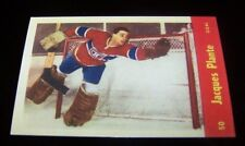1955-56 Parkhurst Reprint   JACQUES-PLANTE   ROOKIE #50 Canadians Hockey Card