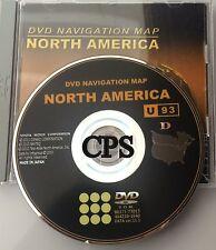 Genuine 2011 2012 2013 Toyota Lexus DVD Navigation Map U93 D
