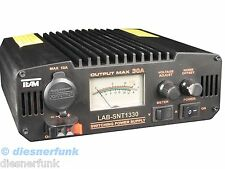 CB Funk Amateurfunk Netzteil HF feste 9-15Volt 30Ampere Team LabSNT-1330 ANALOG