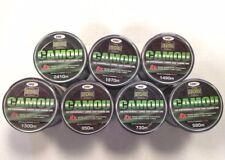Camo Bulk Spool Fishing Mono Line 8lb 10lb 12lb 15lb  25lb or 30lb Carp Camou