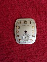 "Hamilton Boulton 1941 Wrist-Watch Dial... ""Nice Used Condition"" L@@K"