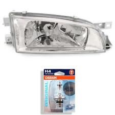 Headlight Right for Subaru Impreza Year 98-00 Clear Glass/Chrome H4 Incl. Lamps