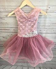 Weissman Dance Ballet Costume #10051 Rose Pink Small Child