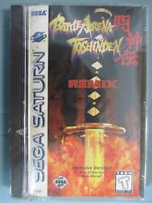 Battle Arena Toshinden Remix (Sega Saturn, 1996) New Sealed See Pictures