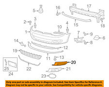 VW VOLKSWAGEN OEM 10-14 Golf Front Bumper-Air Grille Right 5K0853666A9B9