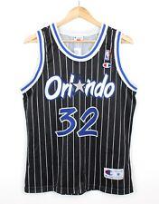 More details for orlando magic shaq o'neal #32 nba jersey champion usa vintage top - m