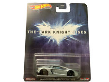 2020 Hot Wheels 1/64 Dark Knight Rises Lamborghini Aventador Coupe Model GJR43