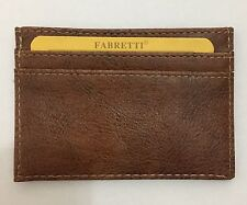 Credit Card & Money Holder For Men (Brown)